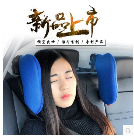 Interni auto poggiatesta del sedile cuscino sonno cuscino del collo cuscino cuscino auto viaggi riposo