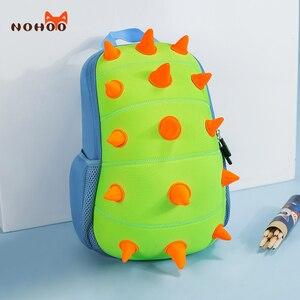 Image 2 - NOHOO Toddler Kids Dinosaur Backpack for Boys Children Dinosaur Bookbag Toys Bag Waterproof 3D Cartoon Girls Preschool Backpack