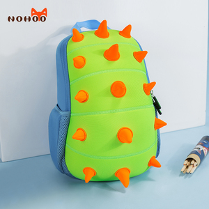 Image 2 - Nohoo 유아 어린이 공룡 배낭 소년 어린이 공룡 bookbag 완구 가방 방수 3d 만화 소녀 유치원 배낭