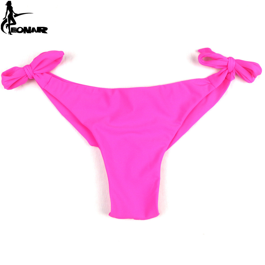 brazilian cut bikinis latest sexy solid thong brazilian cut ties on side low