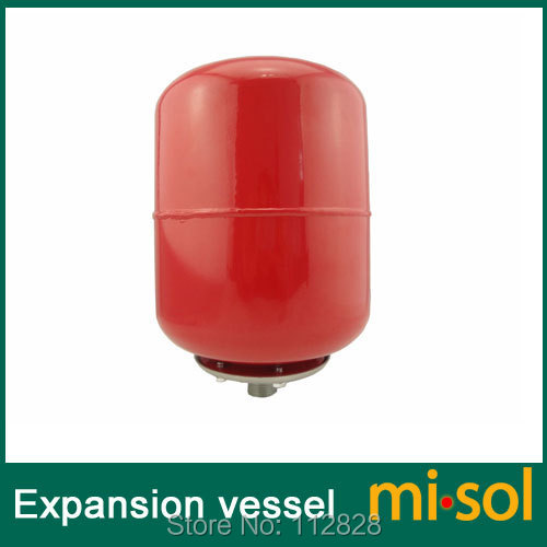 Expansion vessel 19 Liter for solar water heater system, expansion tank 100 liter solar water heater tank 220v with copper coil with electrical element solar water tank