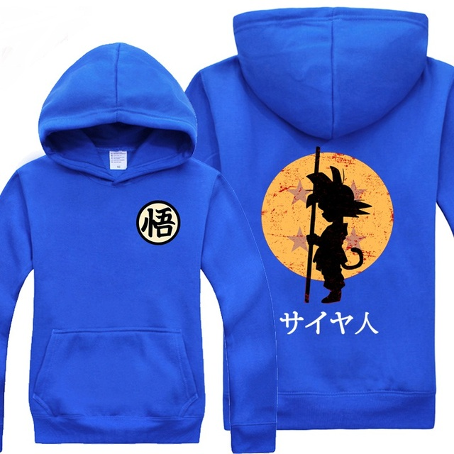 Dragon Ball Z Son Goku Printed Sweatshirt Hoodie