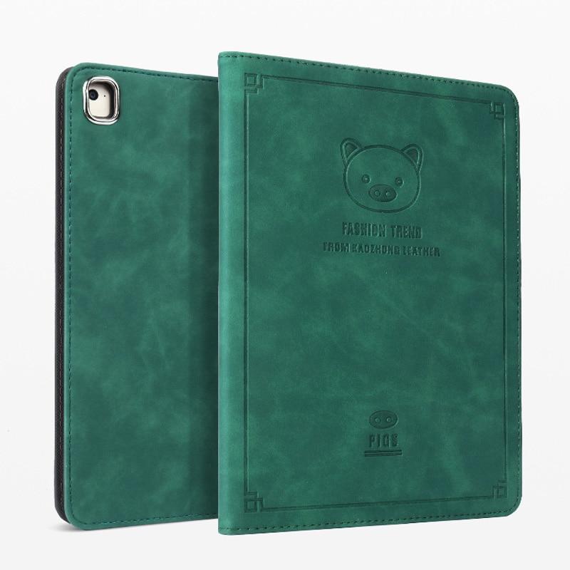 For ipad Mini 1 2 3 Case PU+leather Cute fashion dog pig Shockproof Folio Stand Cover For ipad Mini 4 Magnetic Flip Cover Case (15)