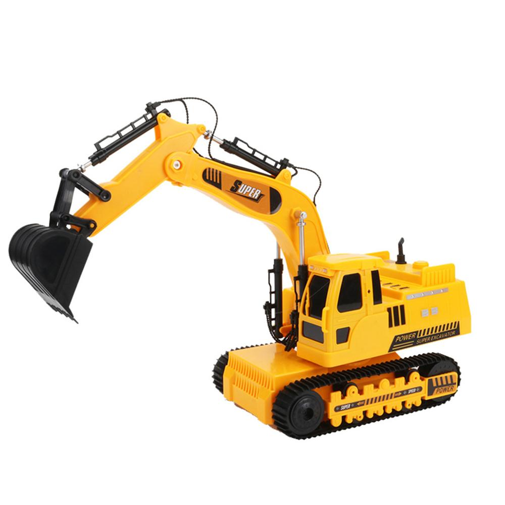 Image 2 - 2.4GHz 12CH 1:18 RC Car Drift Alloy Excavator  Kids Adults Remote Control Toy Car-in RC Cars from Toys & Hobbies