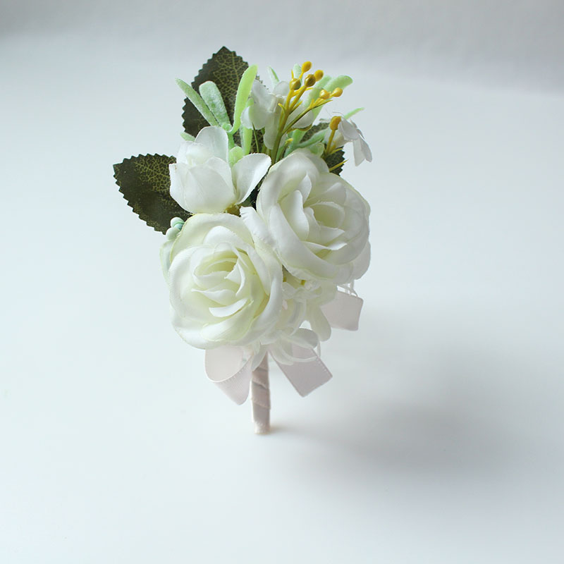 wedding boutonniere corsage groom  (16)