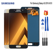 Original For SAMSUNG Galaxy A3 2016 A310 LCD Display Touch Screen Digitizer Replacement For Samsung A310F SM-A310F Screen LCD