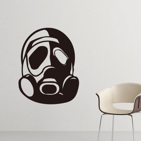 Counter Strike Pollution Gas Mask Silhouette Pattern