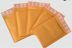 (110*130mm) 100pcs/lots Bubble Mailers Padded Envelopes Packaging Shipping Bags Kraft Bubble Mailing Envelope Bags