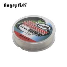 Fluorocarbon Fishing Line  50m transparent Super strong