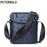 Peterbolo Casual Shoulder Bag Man Bag Satchel Tide Oxford Spinning Canvas Travel bag
