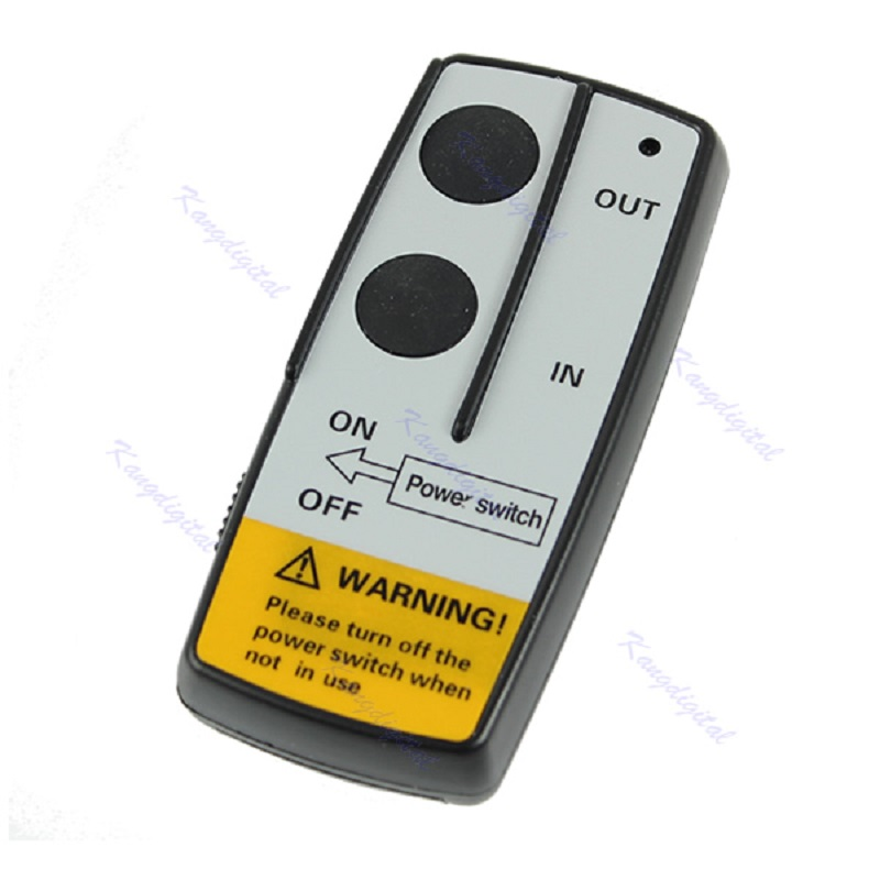 OOTDTY Wireless Remote Control Kit 24V Handset For Truck Jeep ATV SUV Winch Warn Ramsey
