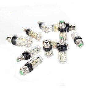Image 3 - E27 E14 220V LED Lamp 5730 SMD LED Corn Bulb Lampada Ampoule Lighting 24 27 30 36 59 69 72 Leds Lamp Bombillas Light Bulbs