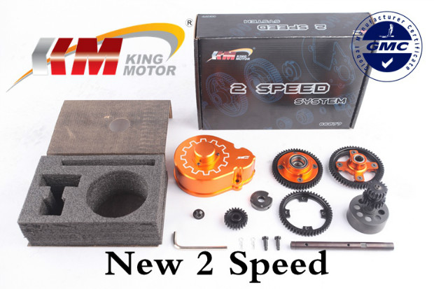 New  2 Speed Gear Kit for HPI Baja 5B SS 5T 5SC T1000, SS Rovan Buggy Truck baja 95175 57t metal gear assembly 5b 5t 5sc hpi km rovan baja 5b 5t sc ss 30 5cc truck buggy steel spur gear 57t 17t set