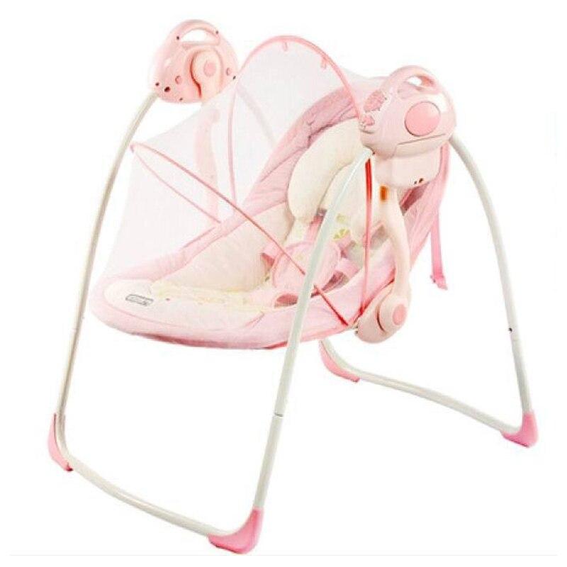 Portable électrique bébé chaise à bascule infantile enfant en bas âge berceau Rocker bébé videur chaise bébé balançoire chaise salon inclinable