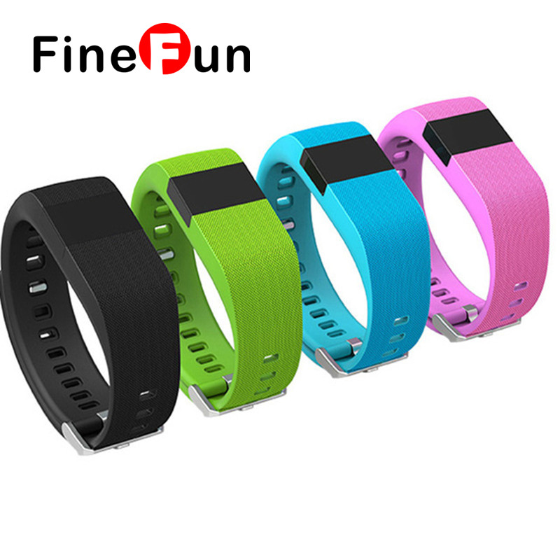 FineFun Smart Wristband Jw86 Fitness Heart Rate Smart Watch Bracelet Tracker Bluetooth Smartband for ios android
