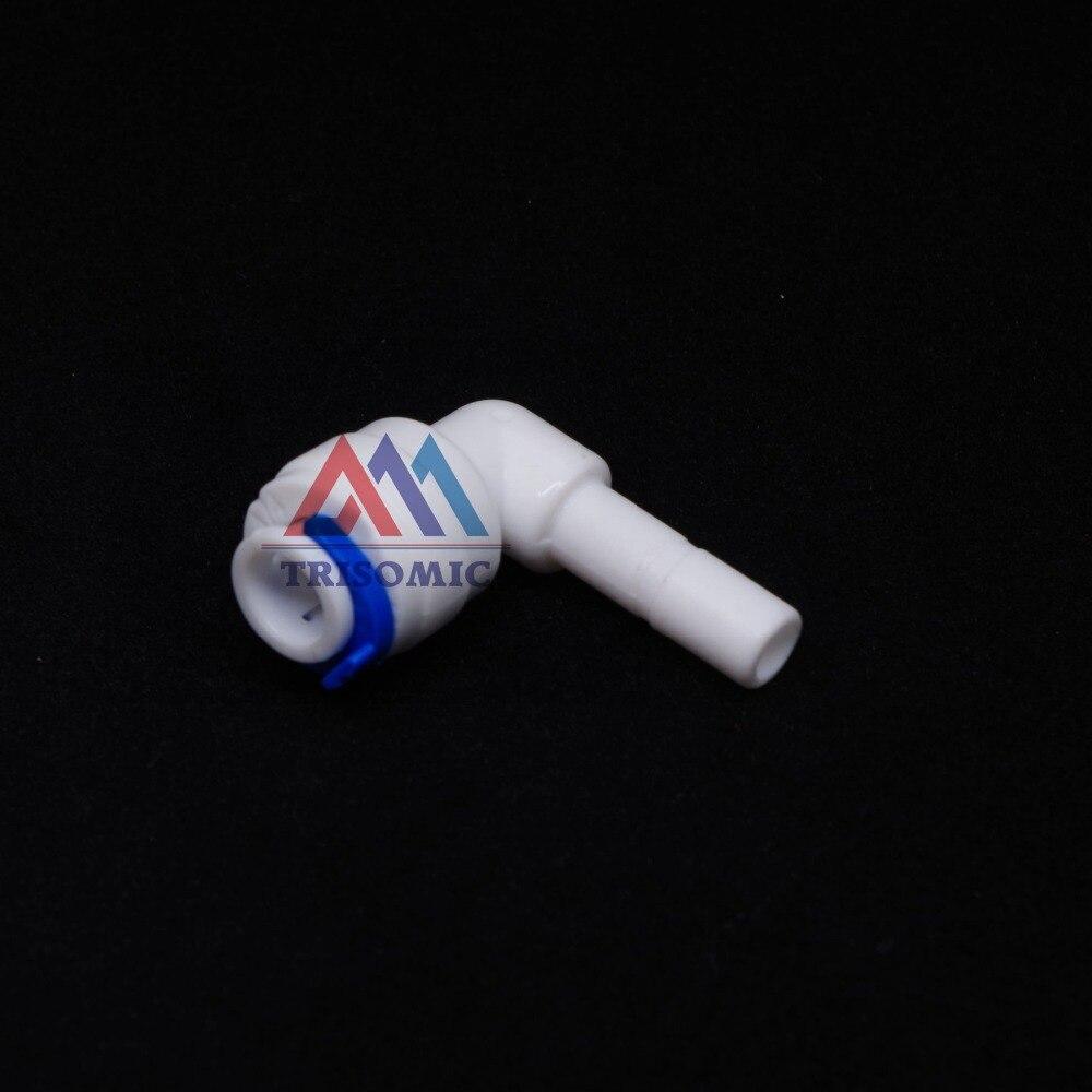 Sanitär Ellenbogen 1/4 od Schlauch Quick Pushfit-1/4 Od Stecker Fitting Verbindung Aquarium Ro Wasserfilter Umkehrosmose System Seien Sie Im Design Neu