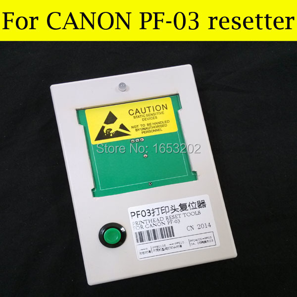 Free shipping! Printhead resetter for canon PF03 for canon iPF500 iPF510 iPF605 iPF600 iPF610 iPF700 for canon printhead