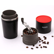 Camping Coffee Machine Outdoor sports multifunction portable camping coffee cup brewed coffee mug grinding machine