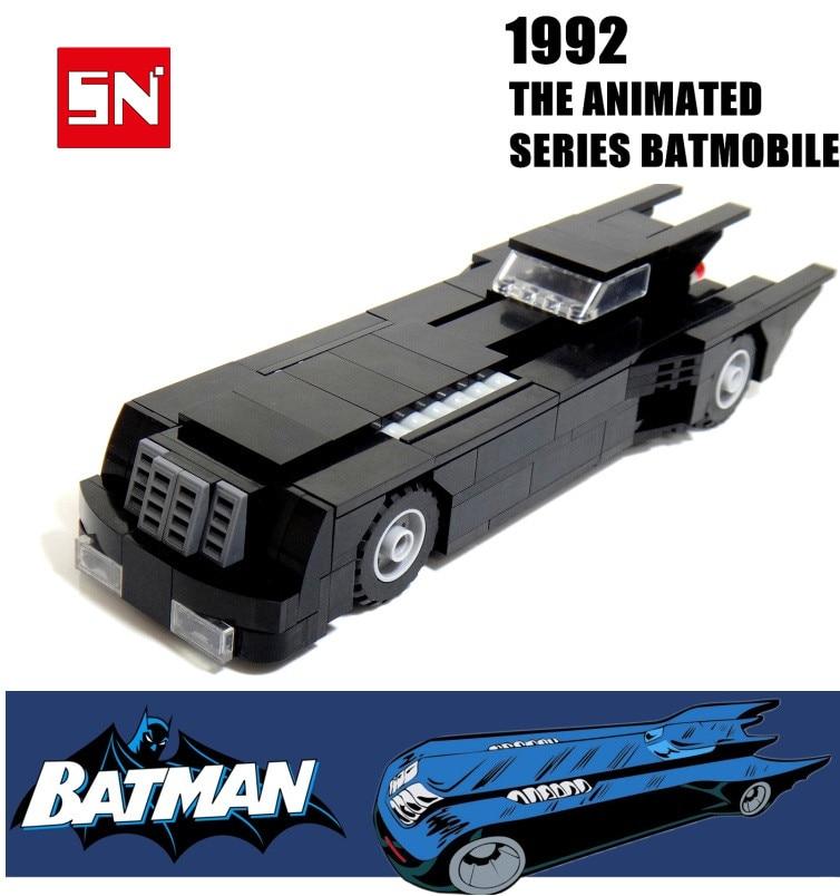 Batman The Tumbler Batmobile Batwing Joker Super Heroes DC Building Blocks Marvel Set briceks baby Toys экран cactus motoexpert cs psme 200x150 wt 200х150 см 4 3 настенно потолочный белый
