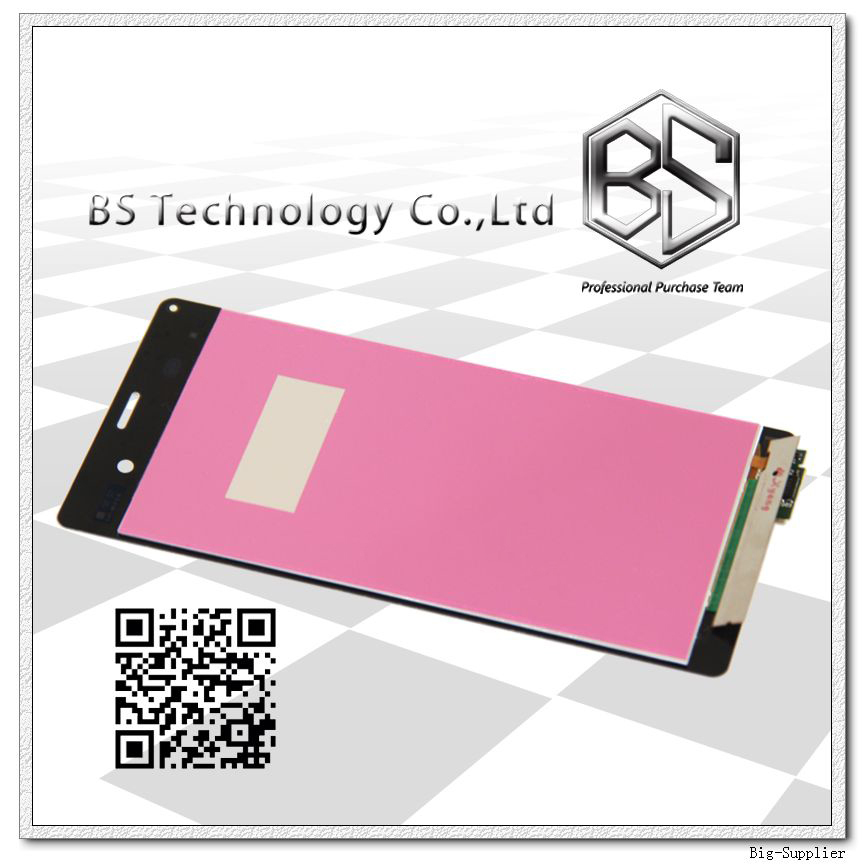 Prix pour 5 pcs/lote assemblage d'origine pour Sony Z3 LCD Screen Display avec Digitizer assemblée