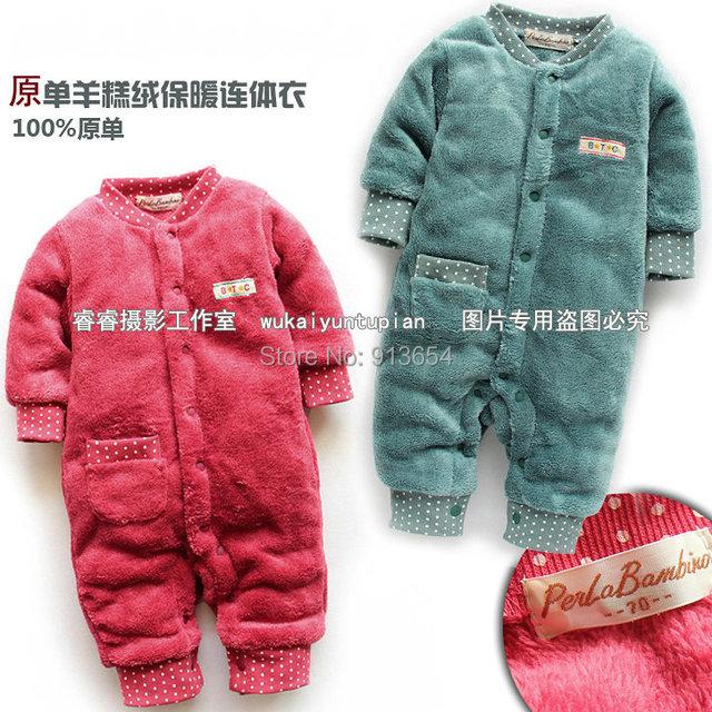 Nuevo 2014 otoño primavera ropa para bebé , súper suave bebé recién nacido del mameluco del bebé / de la muchacha jumpsuits globales niños productos para bebés