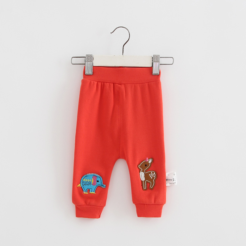 Casual Toddler Trousers Baby Bottoms Pants Infant Boys Girls Cartoon Cute elephant deer sports Pants baby clothes drop shipping (11)