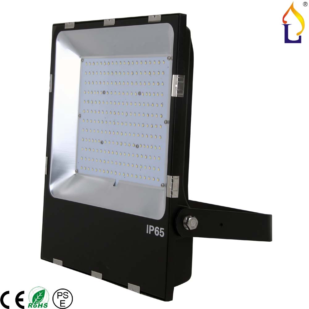 100W 150W 200W 2017 Flood Light Waterproof LED Ultra Thin Flood Light, 3030 Outdoor Lamp Cool White, AC85-265V 5pcs/lot цена