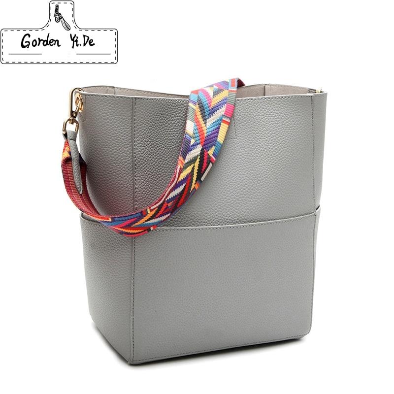 2018 New Luxury Handbags Women Bag Designer Brand Famous Shoulder Bag Female Vintage Satchel Bag Pu Leather Gray Crossbody