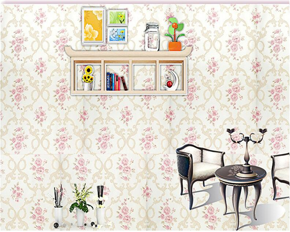 beibehang Living Room Bedroom Background Wall paper 3D Relief Fine Fine Small Nonwovens Wallpaper papel de parede 3d wallpaper beibehang papel de parede pastoral environmental nonwovens wall paper warm small floral living room bedroom background wallpaper