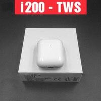 i200 TWS pop up Wireless Bluetooth Earphone second generation Wireless charging Smart sensor Real Battery PK i10 i20 i12 i80 i30
