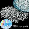 1000pcs 11*14MM Clear Acrylic Diamond Crystal Ice Rock Stones Vase Gems Window Wedding Party Decor Confetti Table Scatter Beads