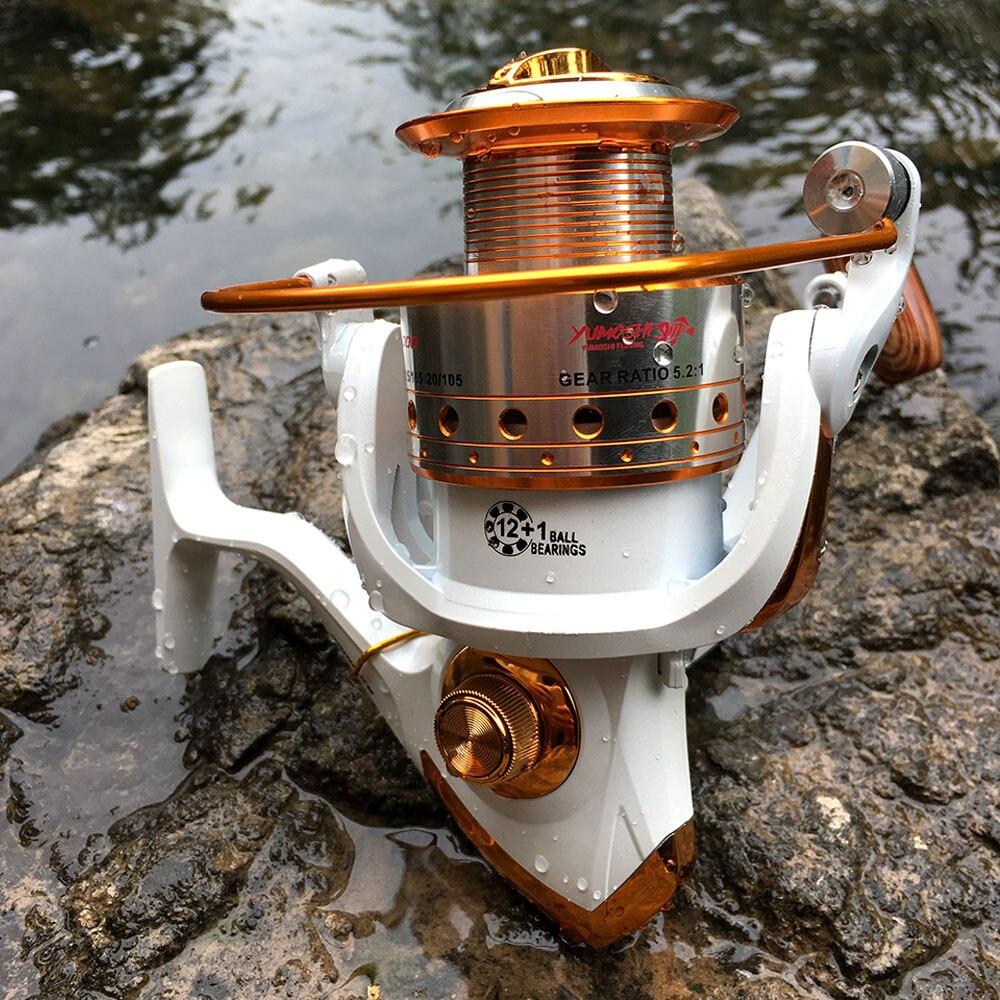 Fishing Reel Spinning 500-9000 Series Metal Spool Spinning Wheel for Sea Fishing Carp Fishing