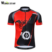 Weimostar Red Black Cycling Clothing Cycling Jersey Shirt Bicycle Bike  Ciclismo MTB Bicycle Cycling Clothing Maillot e2fb80516