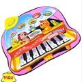 10pcs/lot children's music game carpet versatile large-size electronic piano baby music mat for baby intellectual development
