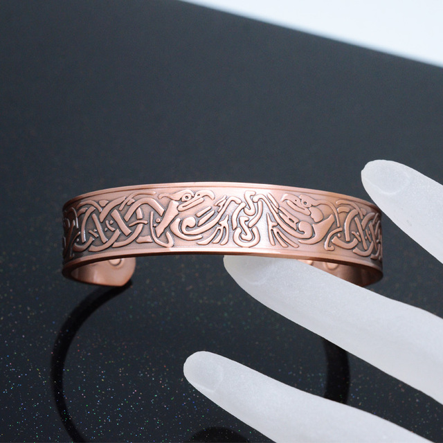 Powerful Pure Copper Plating Vintage Magnetic Bracelet