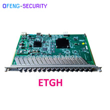 ZTE ETGH EPON board with 16 SFP modules EPON-OLT-PX20+ Use for ZTE C300 C320 OLT Same function with ETGO(China)