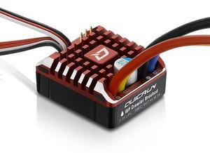 Image 4 - Hobbywing cepillo trepador QuicRun 1:10 1/8 WP, cepillado, 80A 1080, controlador electrónico de velocidad, resistente al agua, ESC con caja de programa, LED BEC