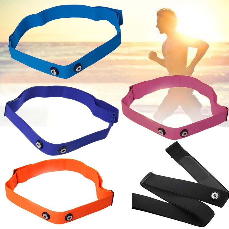1Pcs Elastic Adjustable Chest Belt Strap For Garmin Wahoo Polar Sport Running Heart Rate Monitor Belt Strap Band