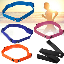 1Pcs Elastic Adjustable Chest Belt Strap For Garmin Wahoo Polar Sport Running Heart Rate Monitor Band