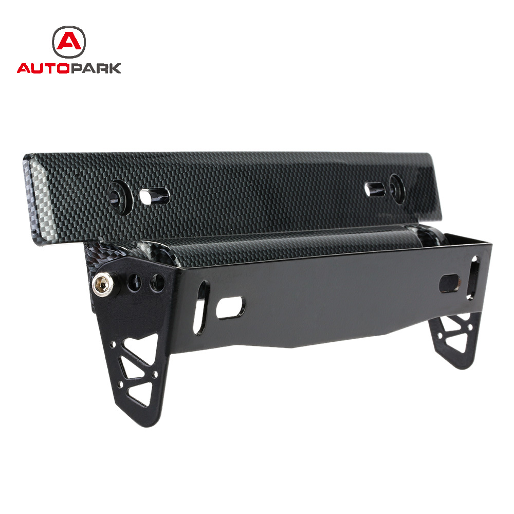 Car Styling Universal Car License Plate Frame Holder ...