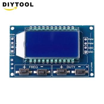 Signal Generator PWM Pulse Frequency Duty Cycle Adjustable Module LCD Display 1Hz-150Khz 3.3V-30V PWM Board Module 1 channel signal generator pwm pulse frequency duty cycle adjustable module lcd display 1hz 150khz 3 3v 30v pwm board module
