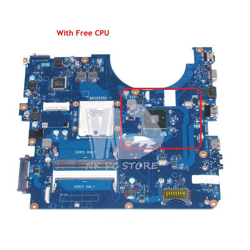 все цены на NOKOTION For Samsung NP-R540 R540 Laptop Motherboard HM55 UMA DDR3 Free CPU BA41-01219A BA92-06381B BA92-06381A