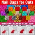 120 pcs-Мягкие Крышки для Ногтей для Кошек + 6x Клей Клей + 6x Аппликатор/* XS, S, м, L, лапа, коготь, крышка, много, cat */
