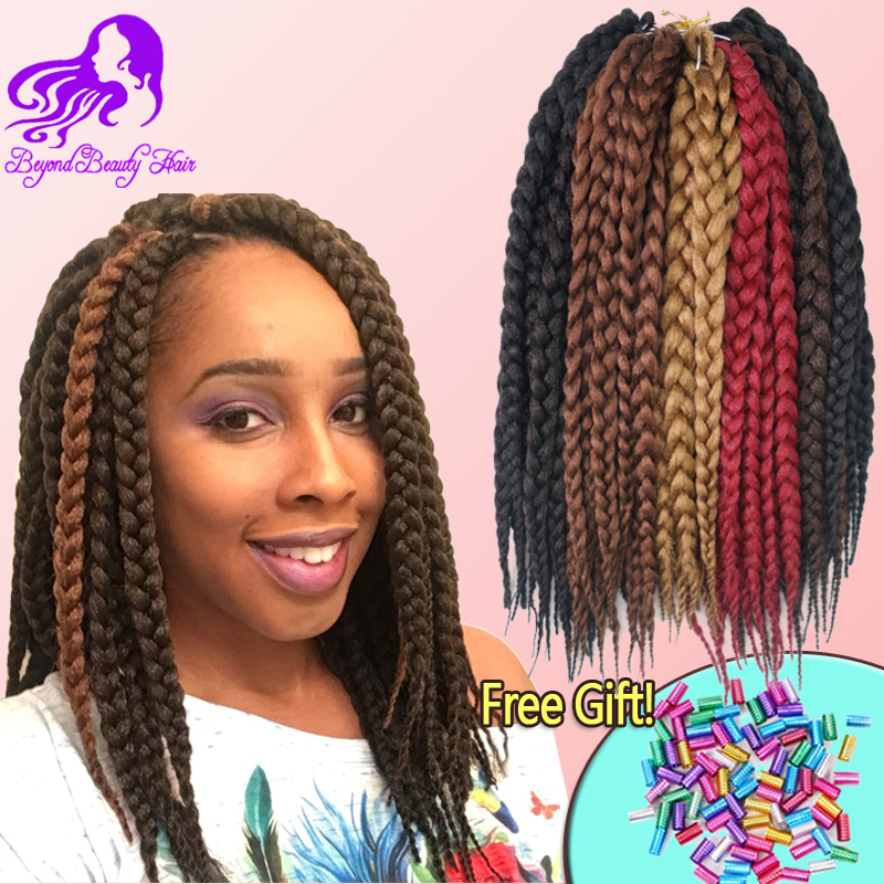 Hair Crochet 12 18 Crochet Hair Extensions Synthetic Croc...