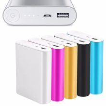 OOTDTY 5V 1A USB 4X 18650 Power Bank Case Kit Battery Charger DIY Box For Smart phone(China)