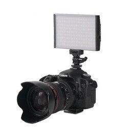 Ultra cienka lampa LED fotografia dla Sony LED a6000 regulowana lampa 3200K-5500K lampa błyskowa do aparatu Nikon Canon 1300D