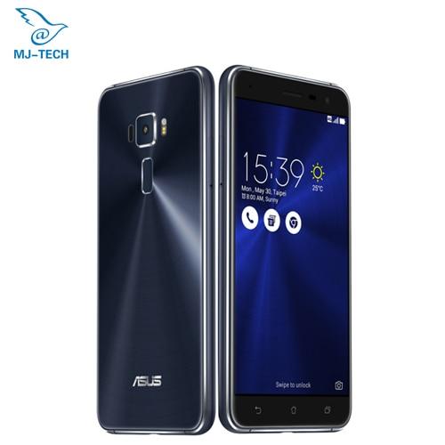 Original asus zenfone 3 ze552kl 5.5 inch Android 6.0 Qualcomm Octa Core 2.5D 4G RAM 64G ROM 1080P 5.5'' 16.0MP smart cellphone