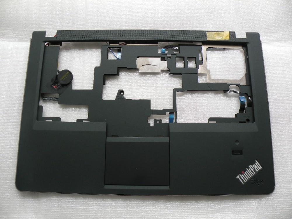 New Original ThinkPad Lenovo E220S S220 Palmrest keyboard bezel cover W/ Touchpad Fingerprint FRU: 04W1523 Laptop Replace Cover zk94 promotion linternas cree q5 lanterna tatica de led 2000lm bright black mini penlight zoomable in