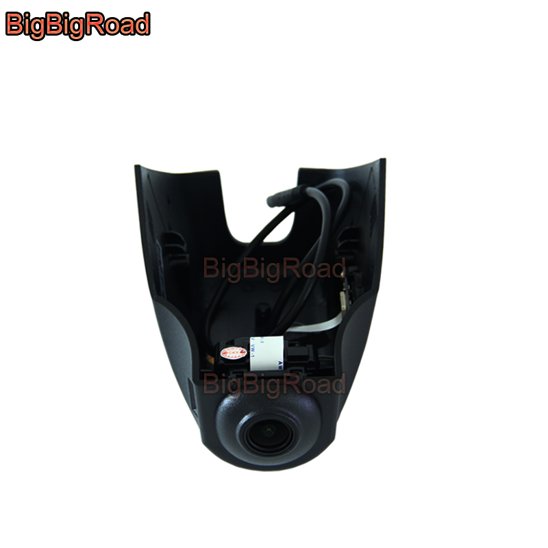BigBigRoad Car DVR Wifi Video Recorder For Land Rover Range Rover 2017 / Range Rover Sport 2017 2018 / Evoque 2016 2017 2018