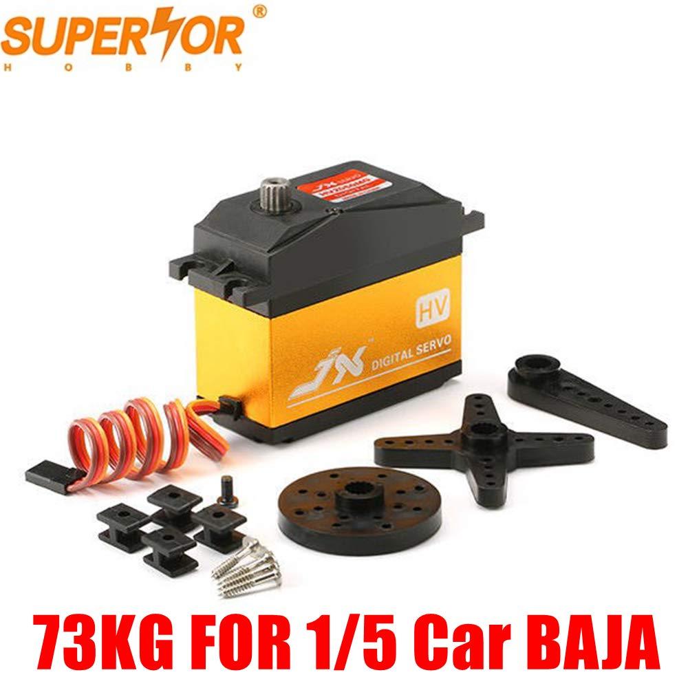 JX Servo PDI-HV2070MG 73KG Servo Metal gear Digital Núcleo 1/5 Do Carro compatível SAVOX-0236 PDI-HV2060MG 5T BAJA LOSI XL DS516